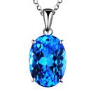 RXB Pendant Flawless Topaz Gemstones
