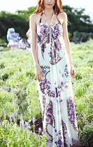Long Bohemian Maxi Dress