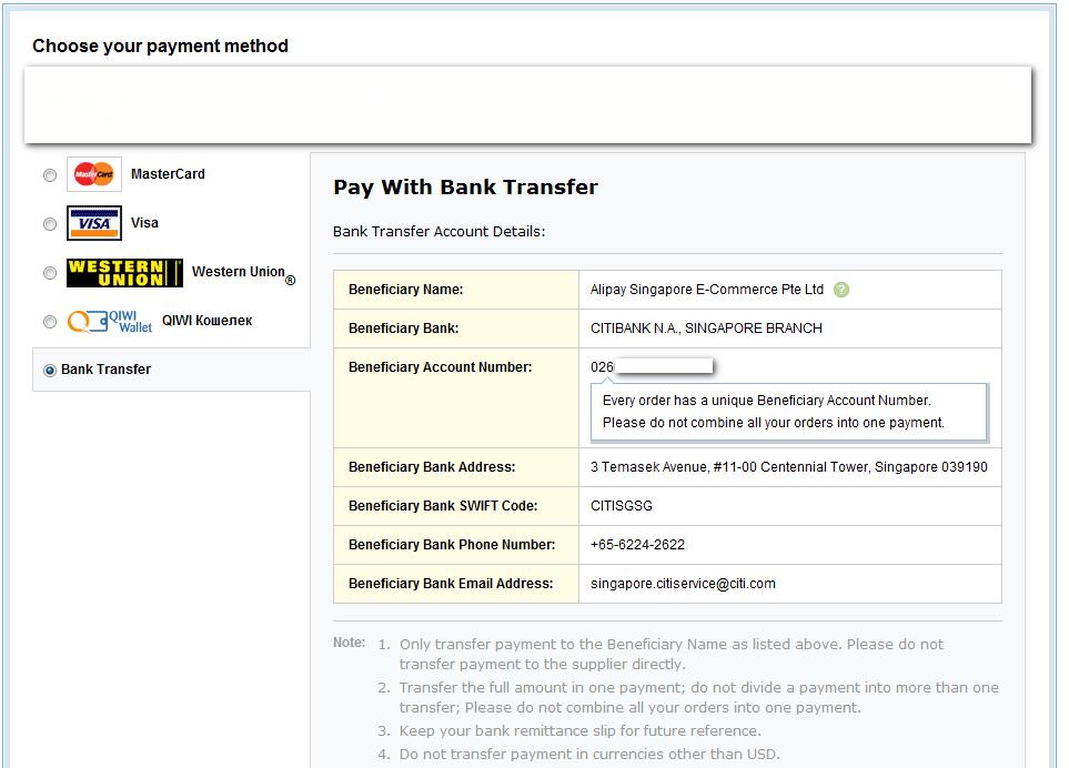 pay by bank transfer deutsch