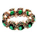 Vintage Alloy Sapphire Bracelet