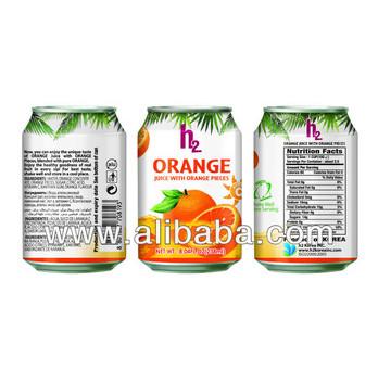 h2 Orange Juice with Orange Pieces 238ml