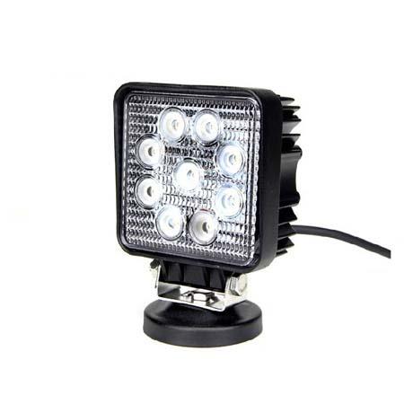 27W LED Work Light 12V , Off road, ATV, SUV, 4x4 auto work lamps TC-2709S-27W