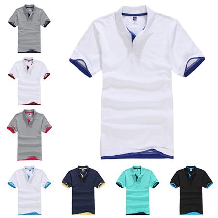 10 Color Collar Polo Shirts