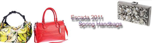 Escada 2011 Spring Handbags