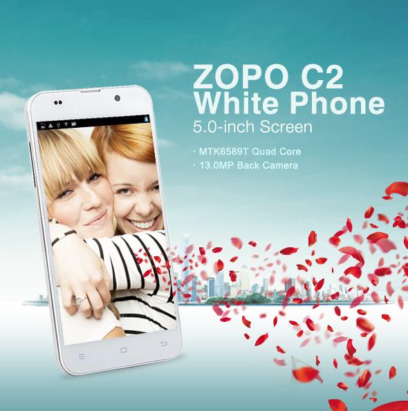 ZOPO C2 White