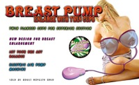 Breast Pump With Twin Cups, Breast Enlarge Pump, Sex Toys For women, Breast Massager Enhancer