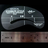 Карандаш для бровей 4 Style Eyebrow Grooming Stencil Template Makeup Shaper[99533