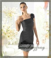 Коктейльное платье Sundayfrog Ruffles /ls5081
