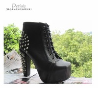 Free shipping Newest Arrival Sexy  High Heels boots shoes for Women dropship Platform shoes X1003