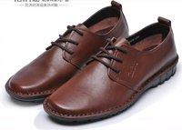 в осень человек обувь текущей моды кожа обувь бизнес досуг корова кожа проветривать М009