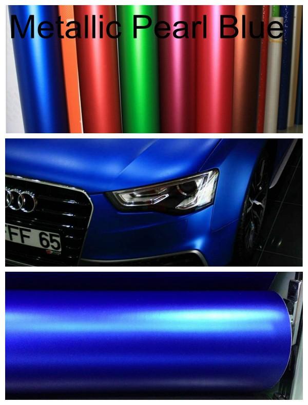 cetim azul met lico matte chrome vinil envolt rio chrome matt film para car styling com air. Black Bedroom Furniture Sets. Home Design Ideas