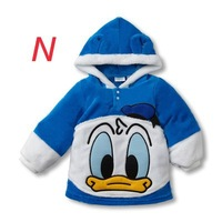 Зимняя одежда для девочек Funny new born baby clothes dress Sweet Popular baby clothes Snow Wear Girls Boys Suit Mickey Minnie