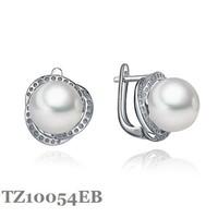 Серьги-гвоздики H&Y 925, AAA , welcom TZ10054EB