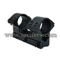 FREE SHIPPING! LENGTH:79MM,New 25mm Double Ring Rifle Scope Mount with 11mm weaver rail