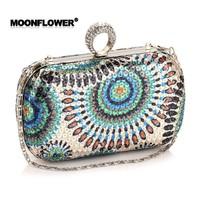 Детали и Аксессуары для сумок FASHION LUXURY RING BAG Clutch Bags Crystal Jewelry Purse skull bag Evening Handbag Shoulder Bags Women handbag