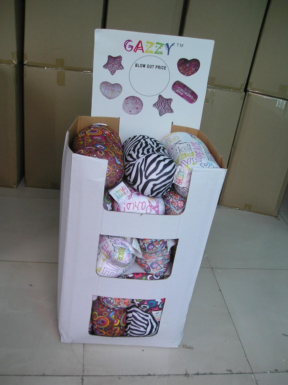 free shipping printed fivepointedstar cushion microbead squishy ...