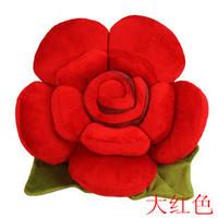 Free shipping Lovely Plush toys /Pet pillow /lovers birthday gift 40cm rose pillow cushion