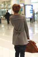 Best Selling!!Women Stylish double-breasted coat long jacket Autumn women windbreaker+free shipping
