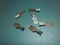 500шт 2,8 мм опрессовки терминала мужской лопата разъем + случай