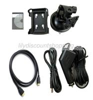 2.4 «ЖК f900lhd автомобильный черный ящик с 1080p hdmi интерфейс ночного видения видеомагнитофон автомобиль рекордер камеры