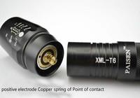 на cree xml xm-l t6 привело фонарик факел мини zoomable фокус масштаб 1000lm водонепроницаемый 26650 аккумулятор + зарядное устройство