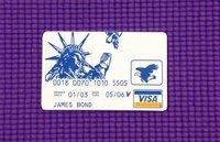 Credit Card Hook Picks , James Bond Product , Locksmith Tools, Lock Opener , GOSO Lock Picks