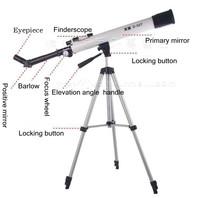 подлинное Сириус hd d 50т Монокуляр астрономический телескоп с штатив, начального уровня космического наблюдения инструментов