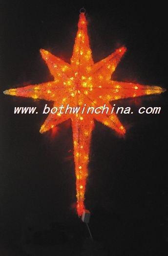 LED lively 3D twinkle motif lights