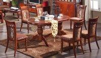 Деревянный стол Classical wooden extended table 839C