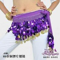 Женская одежда hip scarf paillette belt/belly dance costume wear black