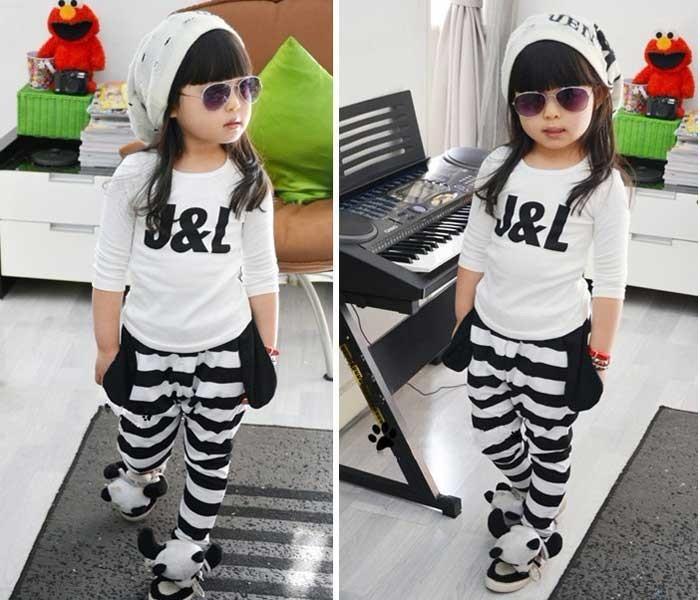 Модные детские спортивные костюмы для девочки