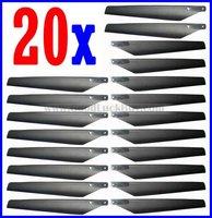 Запчасти и Аксессуары для радиоуправляемых игрушек 20 x Main Blade 5-4 5-8 EsKy Lama V3 V4 R/C Helicopter 19001