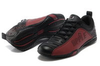 Мужская обувь для бега 2013 Fashion Men's Running Shoes Original Brand Apple Athletic Shoes Outdoor Sport Shoes Size 39-44 Кожа Шнуровка