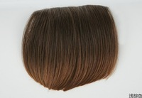 Free Shipping Straight Band Bang Frinde Wigs Top Quality Hot Sale Mixed Color Clip In