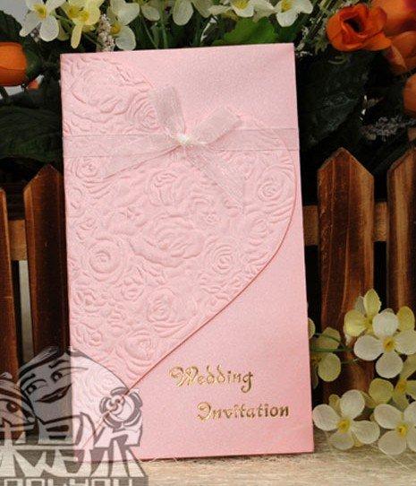 100pieces lotWedding invitations western wedding invitations