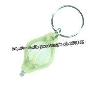 Брелок Wholesales!100pcs/lot 1led mini plastic high power keychain light PK LED flashlight
