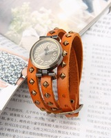 Наручные часы NEW design 100% Excellent Quality Leather Strap leather winding women watch
