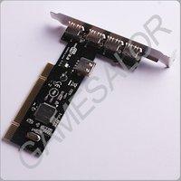 Зарядное устройство 5 PORTS USB 2.0 PCI HUB CARD ADAPTER 480 Mbps #9974