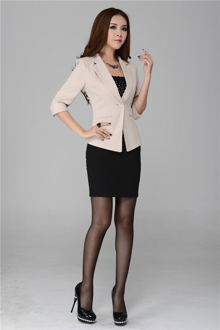 Trajes formales para mujeres de oficina imagui for Trajes para oficina