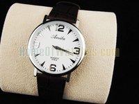 Наручные часы Classic Analog White Dial Fashion Watch Unisex Quartz Watches
