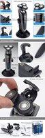 Электробритва 1pcs/lot washed three rechargeable electric shaver men razor