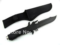 """Steel Blade Edge 300mm/12"""" Sharp Knife Long Assault Cutter knife KF-342"""