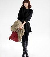 Лучший продавец высокого качества женщины вино красный кожаный рюкзак кисточкой, для детей ladym мода путешествия сумка
