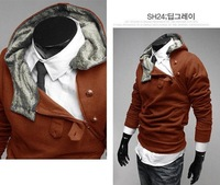 Free shipping 2012 new mens winter coats and jackets fashion men clothing cotton outwear hot A002