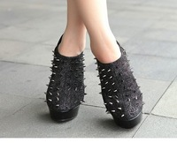 Туфли на высоком каблуке 2013 New style, Nibbuns faves Roman Shoes high heel pumps shining spikes