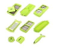 Free Shipping!!! 12Sets Nicer Dicer Plus Vegetables Fruits Dicer Food Slicer Cutter Containers Chopper Peelers CUTT12