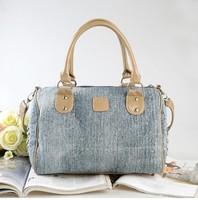 Сумка через плечо Fashion Women Denim Designers Brand Handbags New Messenger Shoulder Totes Jeans Dimond Rhinestone Bags