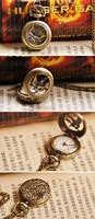 Карманные часы на цепочке The Hunger Games Mockingjay Vintage Pocket Watch