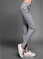 new women's fashion sports trousers plus size mid waist Harem Pants Sweatpants M L XL XXL