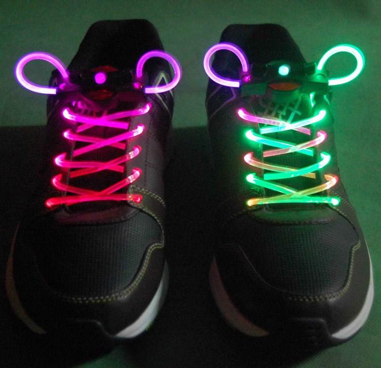 Как сделать светящееся шнурки своими руками